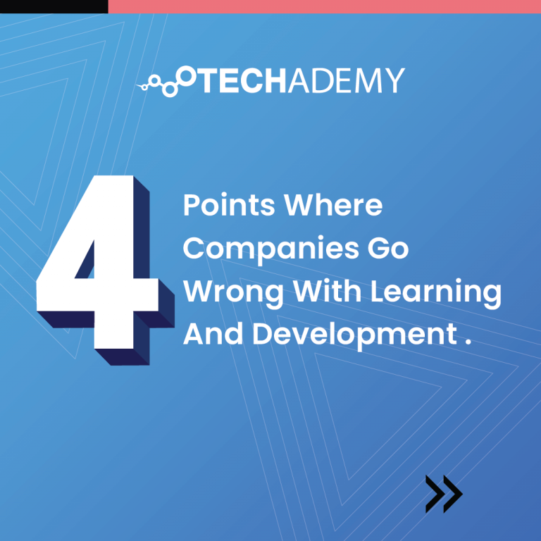 4 Points where Companies Go Wrong with Learning and Development-01