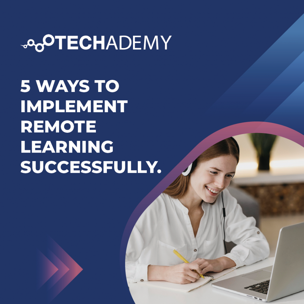 Techademy-carousel-ad-5 ways to implement remote learning successfully-01