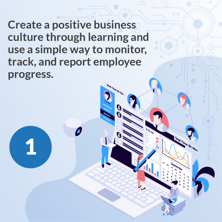 4 reasons why every business must implement a learning management system to track employee training-02
